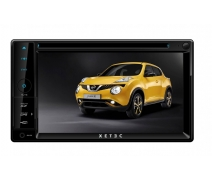 Xetec DS3502 6.2 inch Üniversal Oto Multimedia Doble Din Teyp